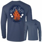 Southernology Gimme Smore Firepit Long Sleeve T-Shirt SMALL