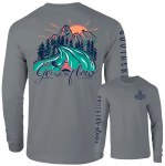 Southernology Go with The Flow Long Sleeve T-Shirt SMALL