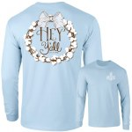 Southernology Hey Y'all Long Sleeve T-Shirt LARGE