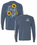 Southernology Look On The Bright Side Long Sleeve T-Shirt SMALL