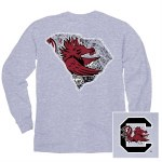 South Carolina Gamecocks Alma Mater Long Sleeve Tee SMALL