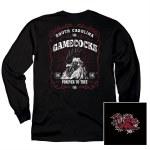South Carolina Gamecocks Label Long Sleeve Tee SMALL