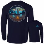 Southernology Best Seat in The House Long Sleeve T-Shirt SMALL