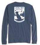 Local Boy Outfitters Blue Ridge Long Sleeve T-Shirt MEDIUM