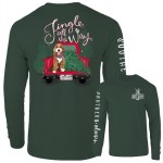 Southernology Jingle All The Way Long Sleeve T-Shirt SMALL