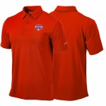 Clemson Tigers 2018 National Champs Columbia Polo MEDIUM