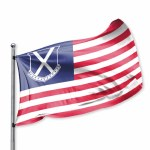 Old Row 3' x 5' Flag USA