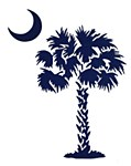 Palm Navy Sticker