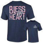 Southernology Floral Bless Your Heart T-Shirt SMALL