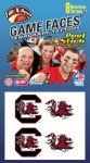 South Carolina Gamecocks Face Tattoos