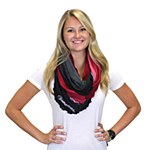 South Carolina Gamecocks Ombre Infinity Scarf