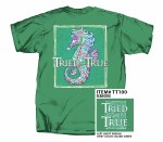 Tried & True Seahorse T-Shirt SMALL