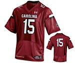 South Carolina Gamecocks #15 Garnet Jersey MD