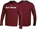 South Carolina Gamecocks 2014 Sideline Long Sleeve Tee GARNET MD