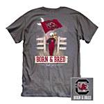 South Carolina Gamecocks Born & Bred T-Shirt LG