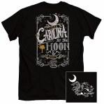 South Carolina Gamecocks Moon & Back T-Shirt SMALL