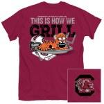 South Carolina Gamecocks Grilln T-Shirt MEDIUM