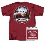 South Carolina Gamecocks Fan Club T-Shirt LARGE