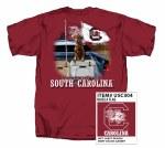 South Carolina Gamecocks Raise A Flag T-Shirt SMALL