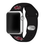 South Carolina Gamecocks  Apple BLACK Watch Band 42/44mm
