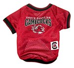 South Carolina Gamecocks Dog Jersey XS