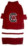 South Carolina Gamecocks Dog Sweater XS