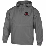 South Carolina Gamecocks Packable GRAPHITE Jacket SMALL