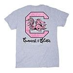 South Carolina Gamecocks & Glitter T-Shirt SMALL