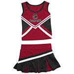 South Carolina Gamecocks Infant Cheerlead Outfit 3/6