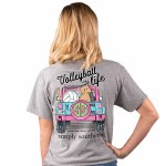 Simply Southern Volleyball T-Shirt SMALL