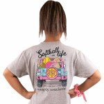 Simply Southern Softball T-Shirt Youth SMALL