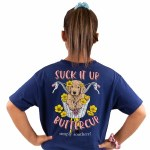 Simply Southern Suck it up Buttercup T-Shirt Youth SMALL