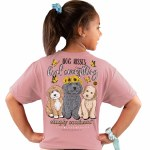 Simply Southern Dog Kisses T-Shirt Youth SMALL