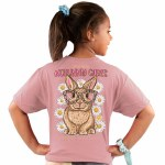 Simply Southern No Bunny Cares T-Shirt Youth SMALL