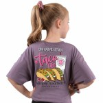Simply Southern Taco Life T-Shirt Youth SMALL