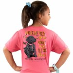 Simply Southern I'll Be There T-Shirt Youth MEDIUM