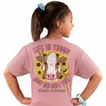 Simply Southern Life Is Tough T-Shirt Youth SMALL