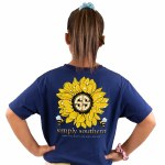Simply Southern Sunflower T-Shirt Youth SMALL