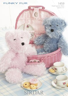 Sirdar 1459 Teddy Bear