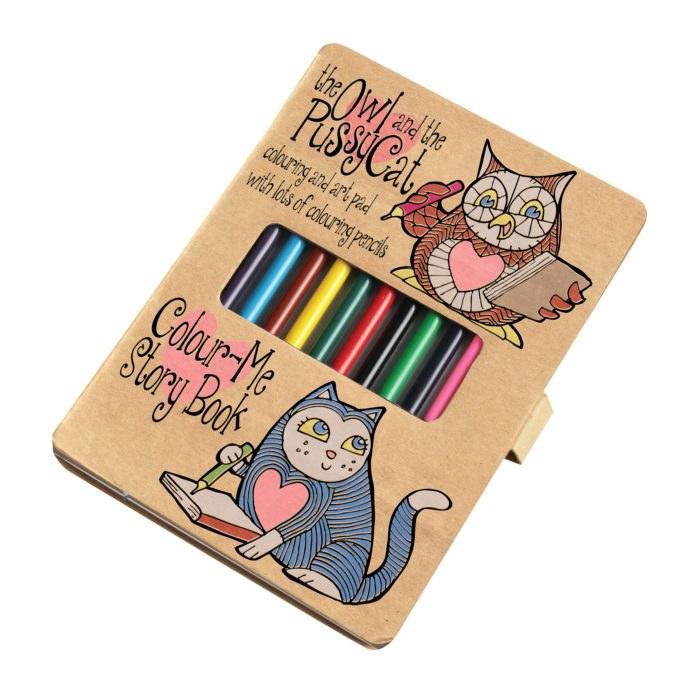 HoM Colour-Me Story Book
