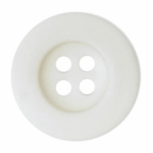 Button Round 18mm Cream