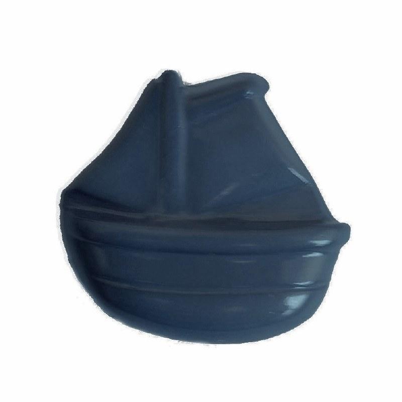 Button Ship 15mm Blue