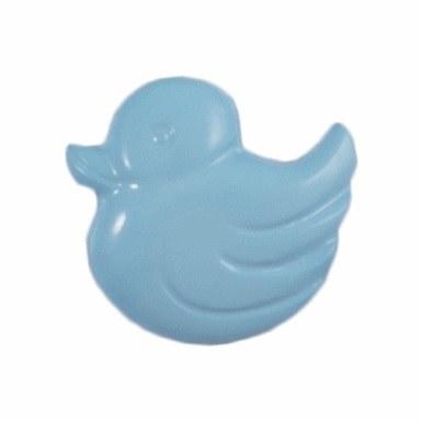 Button Duck 14mm Blue