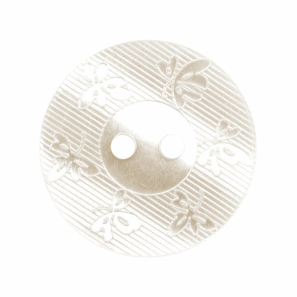 Button 18mm Off White
