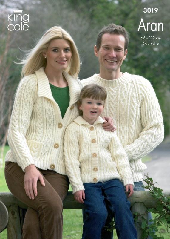 KC 3019 Sweaters, cardi aran