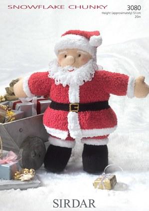 Sirdar 3080 Snowflake ch Santa