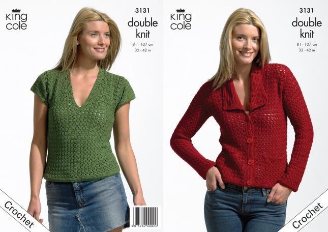 King Cole 3131 dk Crochet