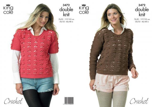 KC 3472 Ladies Sweater