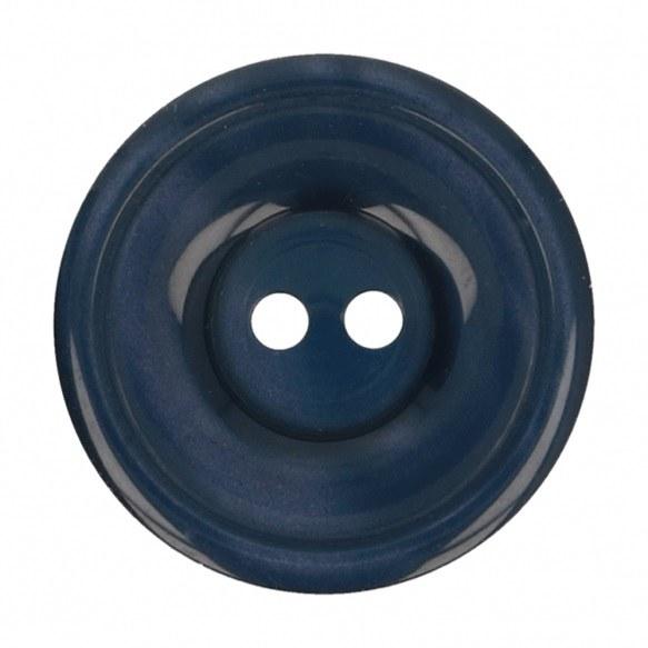 Button Round 20mm Dark Blue