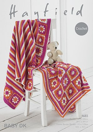 Hayfield 4683 Crochet Blanket